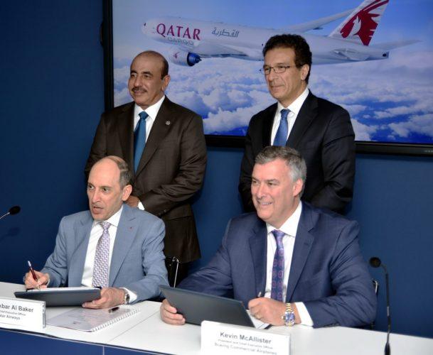 Boeing-Qatar Bourget 2019 B777 Freighter