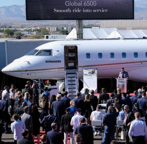 Bombardier Global 6500 NBAA