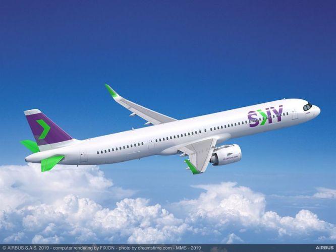 A321XLR SKY