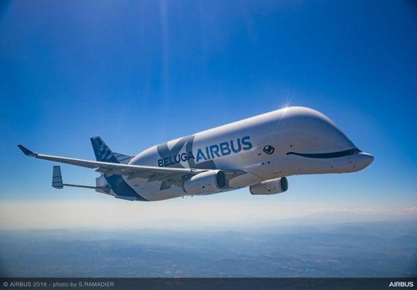 BelugaXL First Flight Air To Air 074