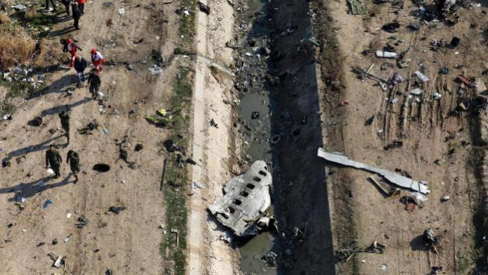 PS752 crash site
