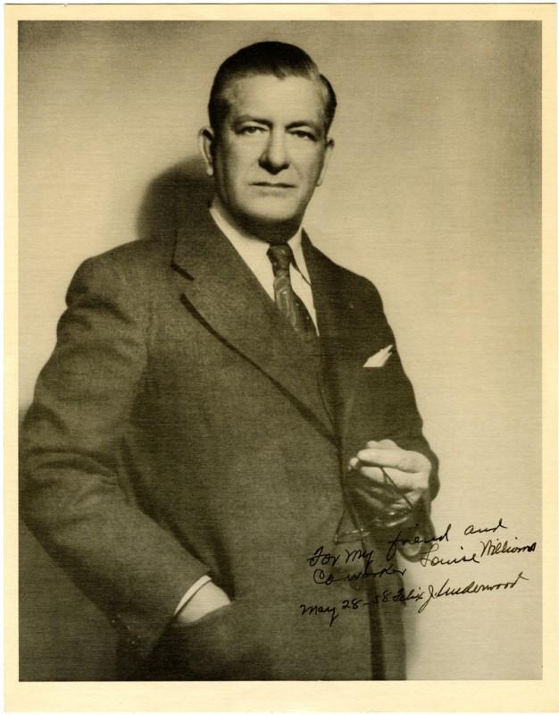 Felix J. Underwood, photo courtesy Mississippi History Timeline.