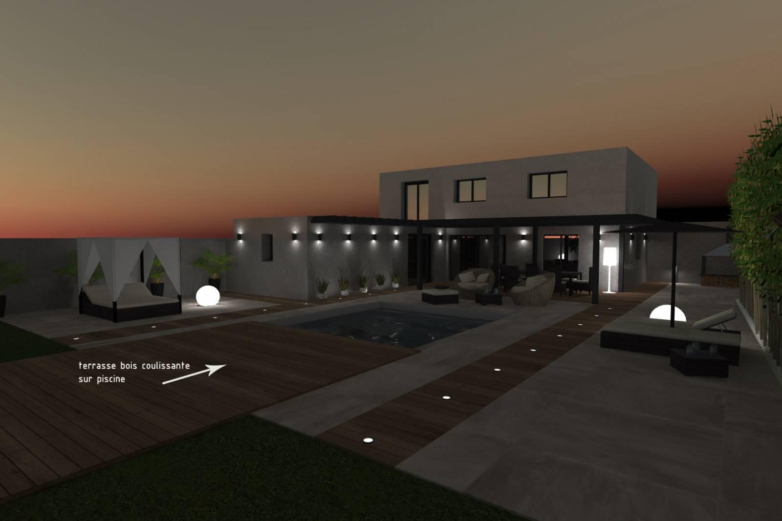 villa moderne a rilleux architecture
