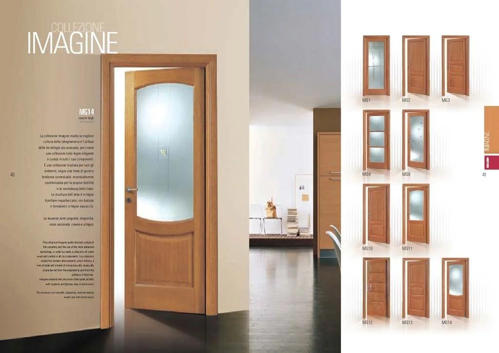 Porta Rovere teak  vetro decorato tondeggiante  MdbPortas