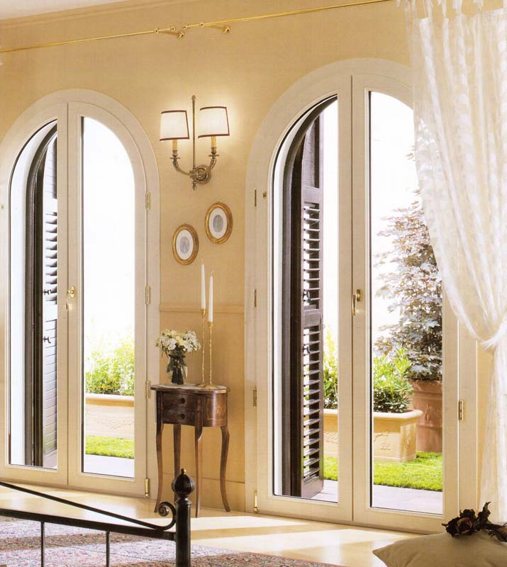 Finestra Porta finestra ad arco ad Arese  Mdb Portas Nurith