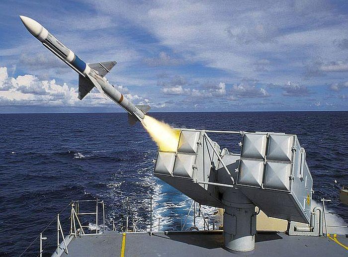 海麻雀點防禦防空飛彈系統
