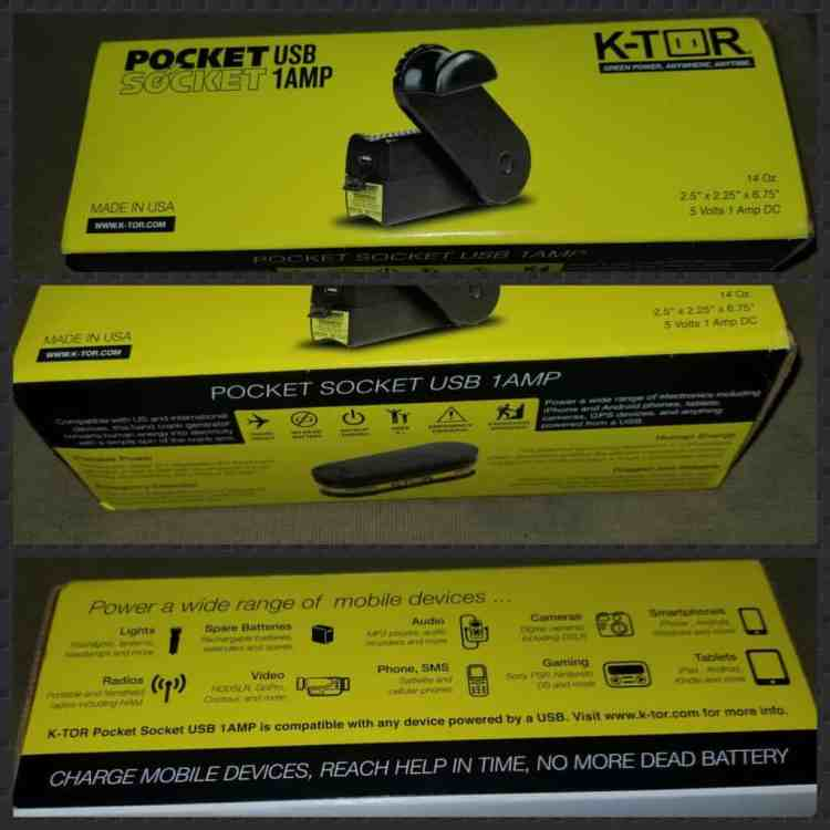 K-Tor hand crank generator