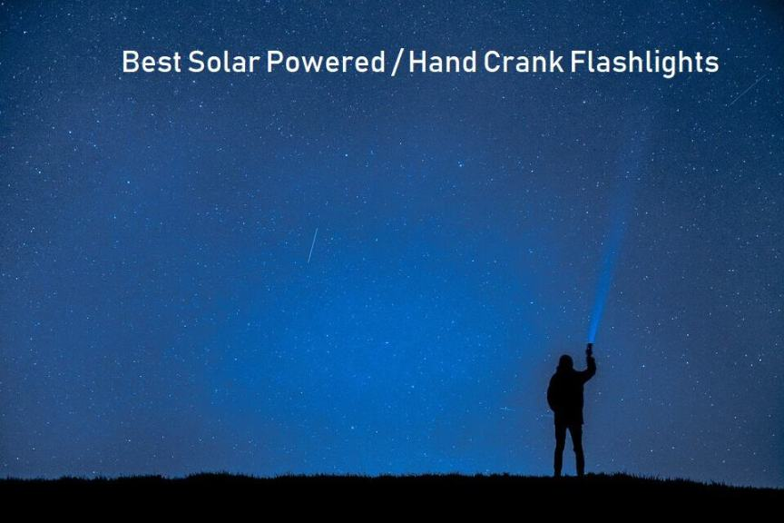 SOLAR POWERED FLASHLIGHT