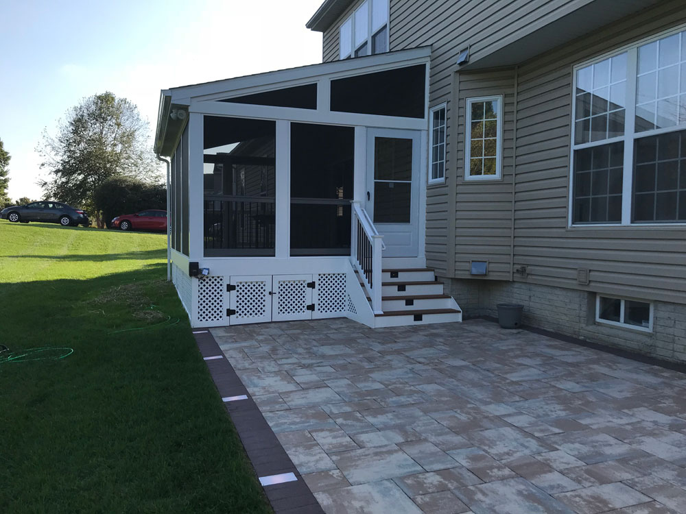 Enclosures Photo Gallery  Maryland Deck Works Inc