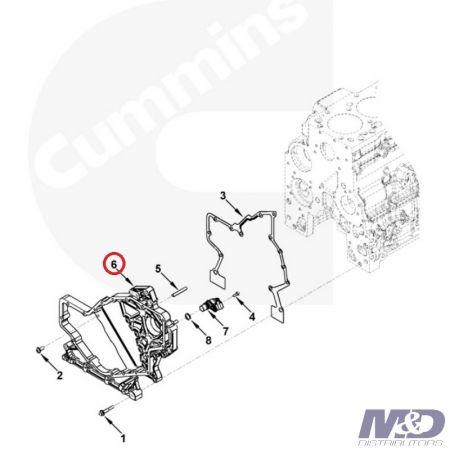 Dodge 5.9L ISB Cummins Fuel Supply Pump Kit 4943048