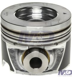 mahle original 0 010 right bank piston [ 1468 x 1500 Pixel ]