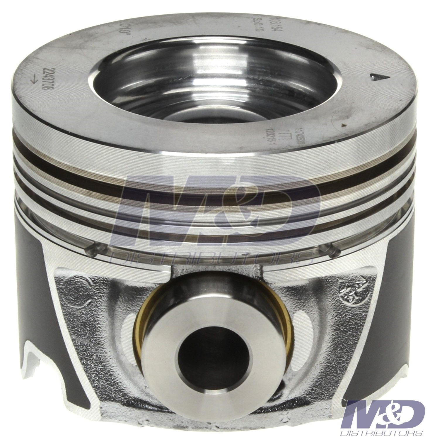 hight resolution of mahle original 0 010 right bank piston