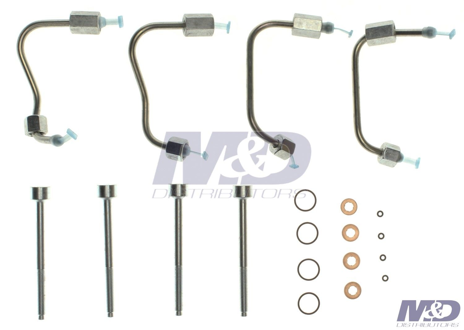 6.7L Power Stroke Single Bank Injection Line & O-Ring Kit|M&D