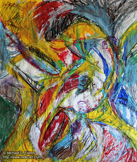 Untitled Abstract Art