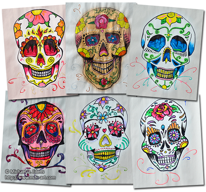 Sugar Skulls for Day of the Dead
