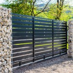 perimeter fence around property