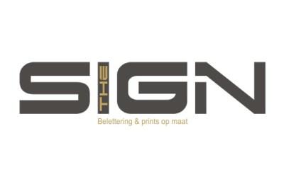 Website ontwerp voor The Sign belettering door MDG Creativity by MDG Promotions