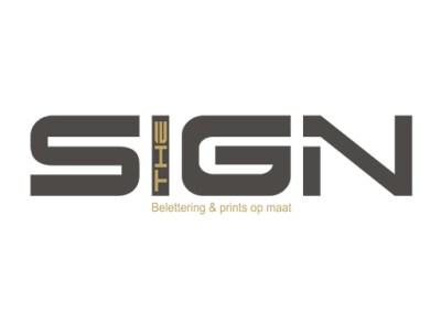 THE SIGN Belettering, reclamepanelen, spandoeken, carwrapping, stickers, zandstraalfolie,…