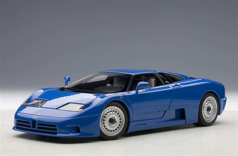 AUTOart 1991 Bugatti EB110 GT Blue 70976 In 118 Scale MDiecast