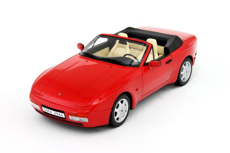 GT Spirit Porsche 944 S2 Cabriolet Red GT002ZM In 1