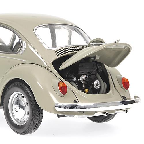 Minichamps 1969 Volkswagen 1300 Grey 150 058100 In 118 Scale MDiecast
