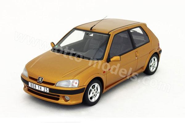 OttO 1996 Peugeot 106 S16 Gold OT097 In 118 Scale MDiecast