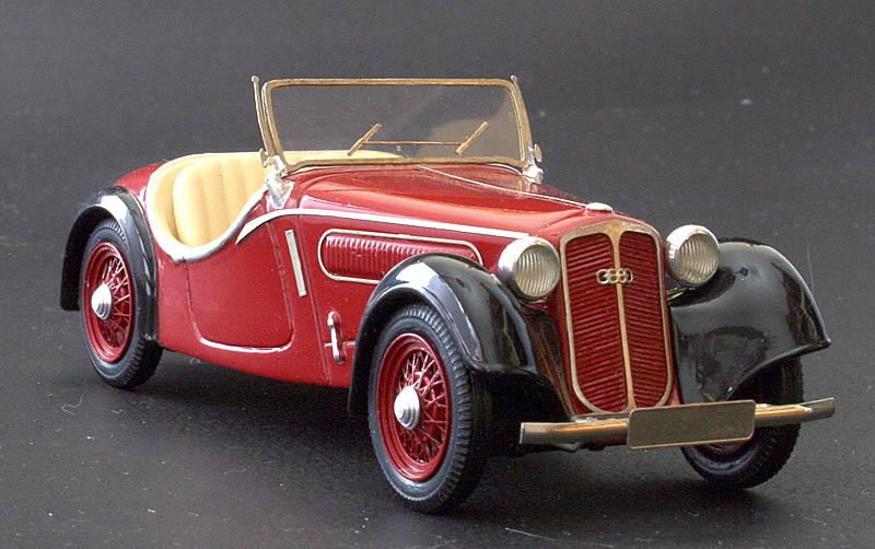 Emc 1936 Dkw F5 Front Luxus Sport Roadster Im 1 43