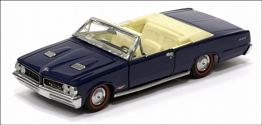 medium resolution of franklin mint 1964 pontiac lemans gto convertible dark blue ri 06 in