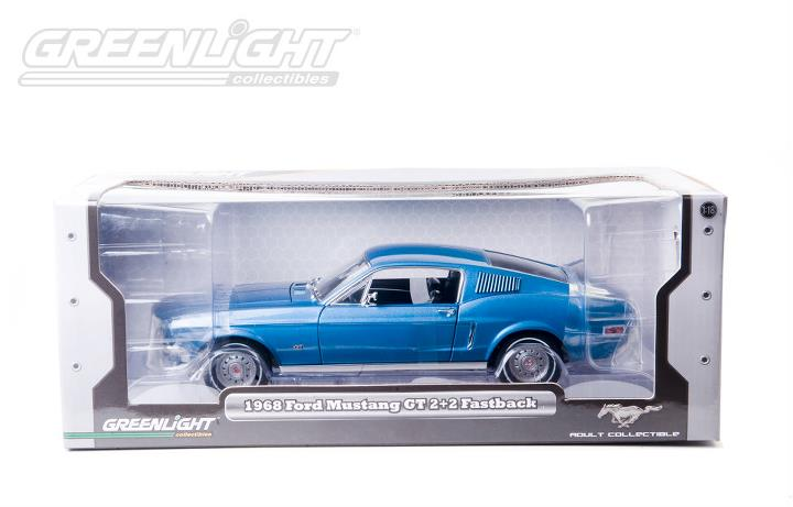 If you&aposre lucky enough to be in a position to buy one of these automotive works of art, then there&aposs no reason not to (we. Greenlight Collectibles 1968 Ford Mustang Fastback Acapulco Blue 12820 In 1 18 Scale Mdiecast