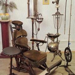 Antique Dentist Chairs Velvet Tufted Dining Antigas Ferramentas De Dentistas - Mdig