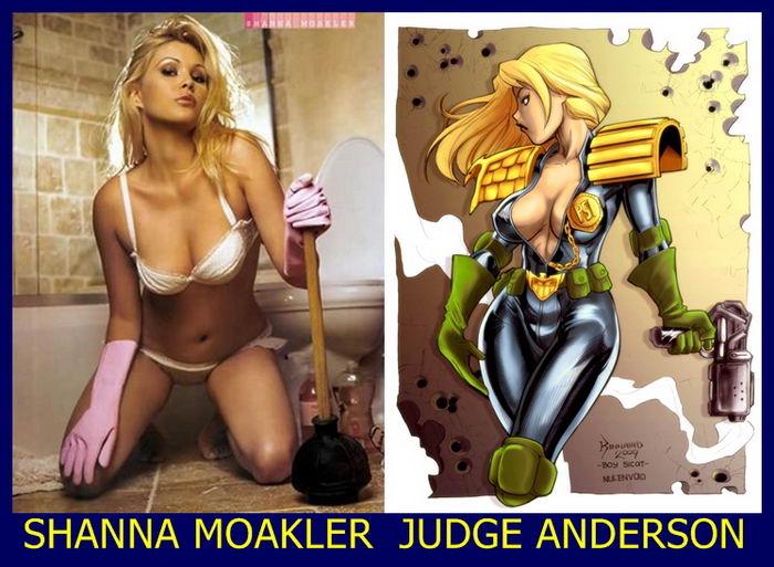 Atrizes pornô e gêmeas dos quadrinhos