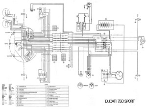 750 sport 1974 wiring diagram 1 page pdf file download