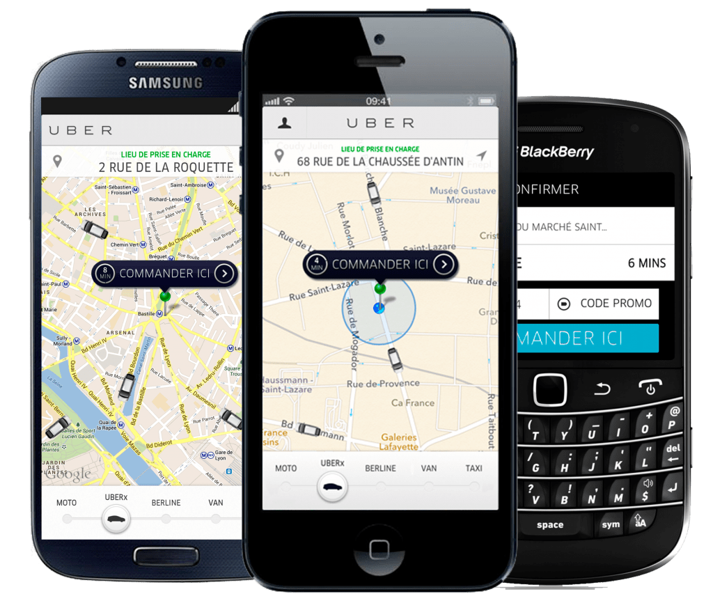 how to pay uber taxi