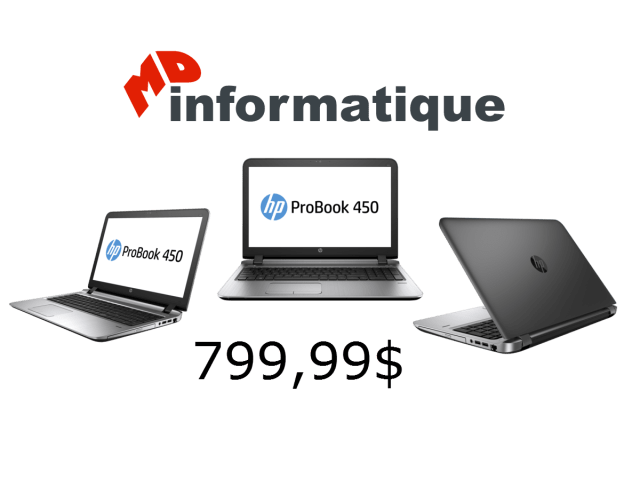 HP ProBook 450 G3 MD Informatique