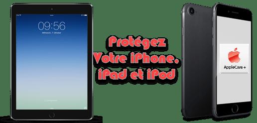 Protégez votre iPhone Ipad iPod grâce à Apple Care Plus