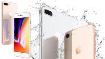De l'eau dans un iPhone