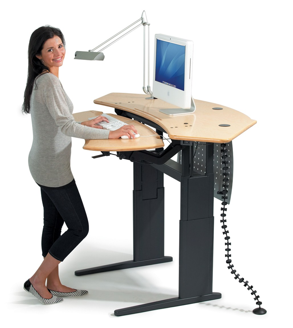 stand up desk chairs rolling chair mat health experts have figured out how much time you should