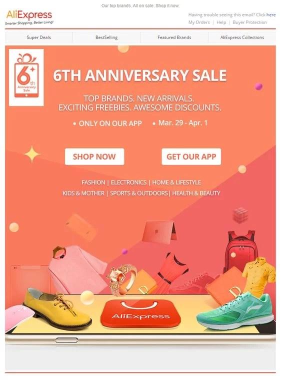 email marketing para una tienda de dropshipping destacada