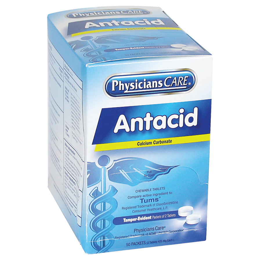 Physicianscare Antacid (50 Packs Of 2 Count)