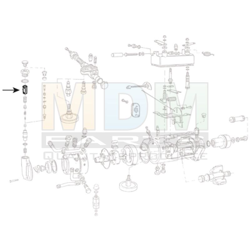 CAV Pumpe Nylon Filter