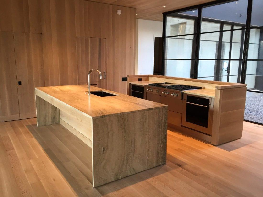 Modern Quarter Sawn White Oak Cabinets