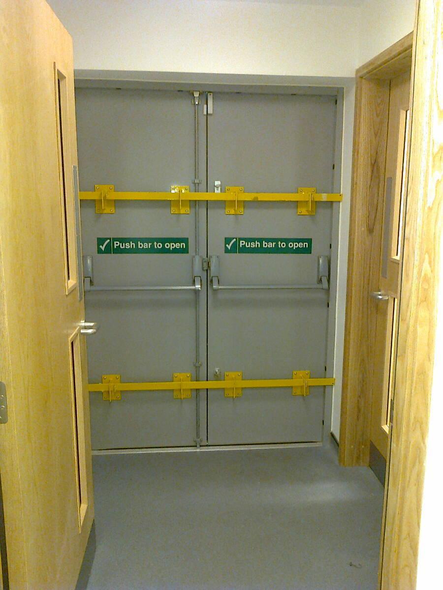 Security Doors Leicester Steel Security Door Manufacturers