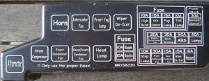 Delica Club • View topic  Fuse box