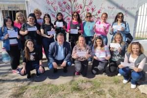 Mujeres de Crear participaron de actividades por el Día Mundial Contra el Cáncer de Mama