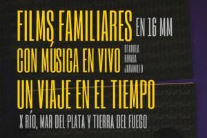 Proyectan películas familiares de más de 90 años con música en vivo