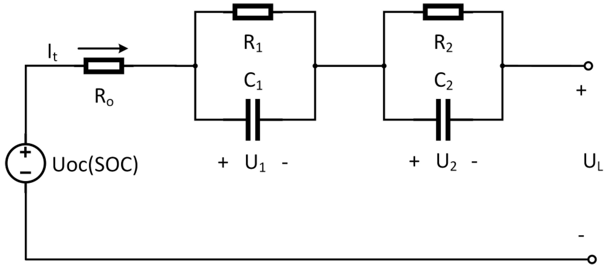 hight resolution of energies free full text a novel observer for lithium ion battery rechargeable batteries battery equivalent circuit diagram