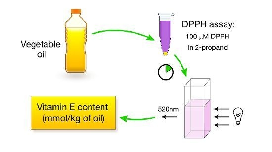 Molecules | Free Full-Text | Rapid Estimation of Tocopherol Content in Linseed and Sunflower Oils-Reactivity and Assay