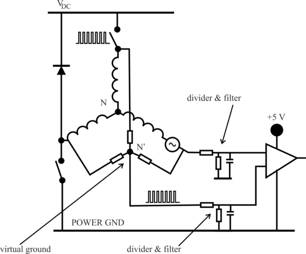 Brushless Motor Generator Circuit