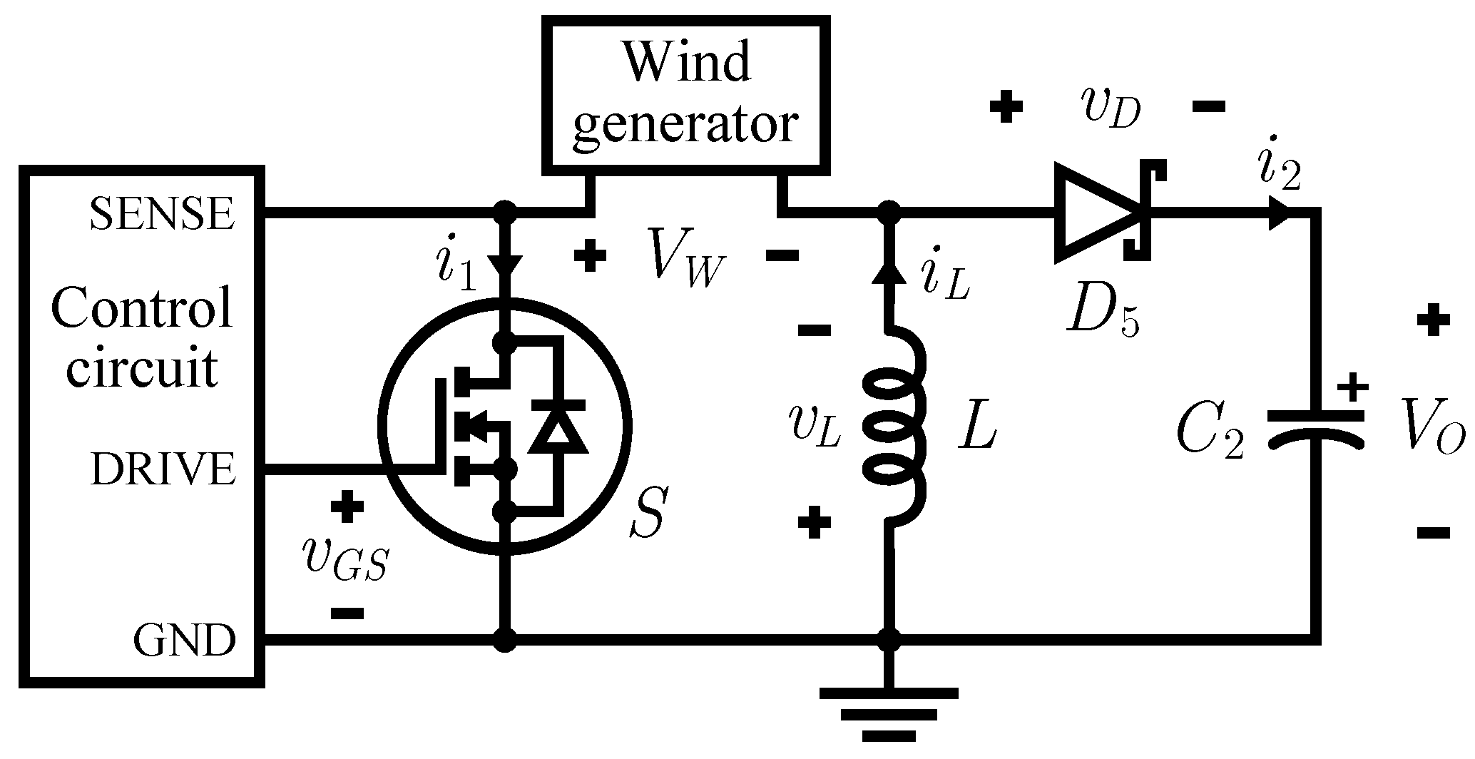 circuit diagram of buck boost converter relay switch sensors free full text a high efficiency wind energy