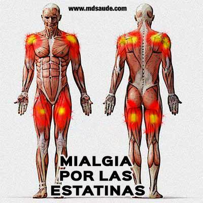 Mialgia por las estatinas